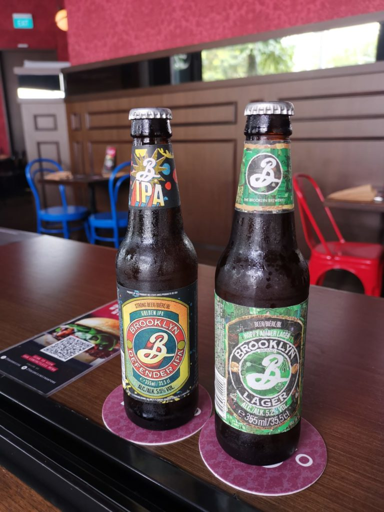 Craft Beer in Singapore | 25 Degrees Burgers in Singapore