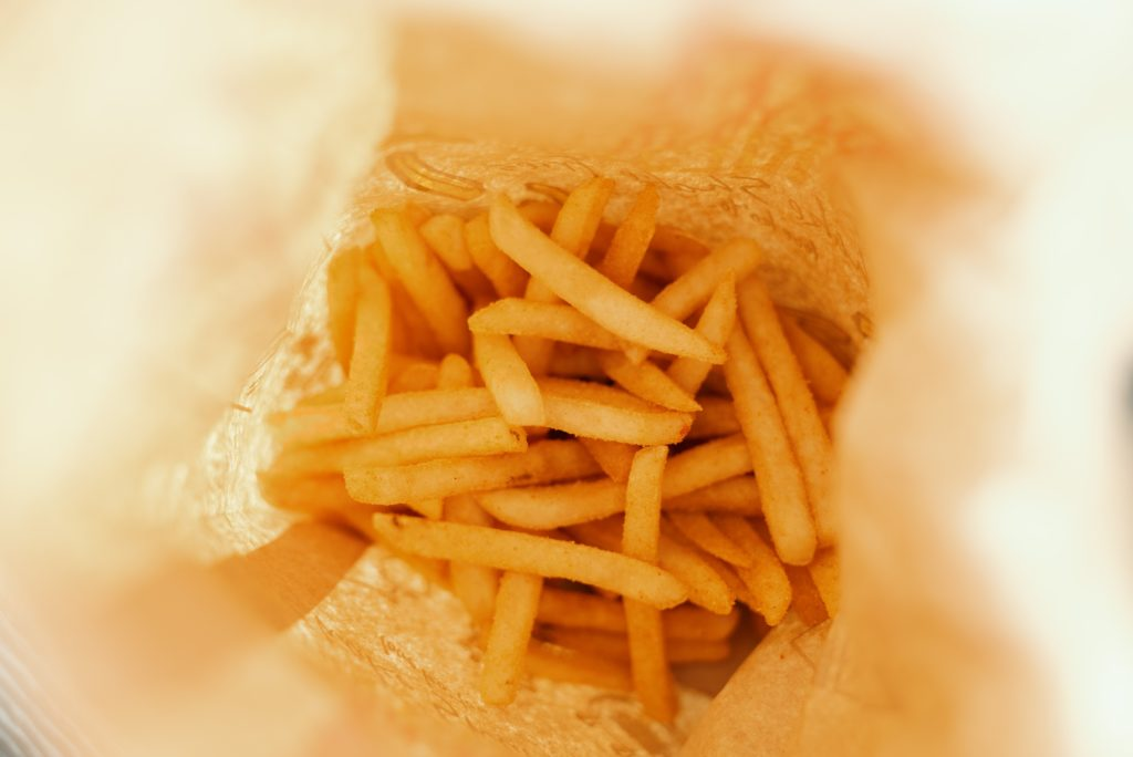 Free Flow French Fries in Singapore