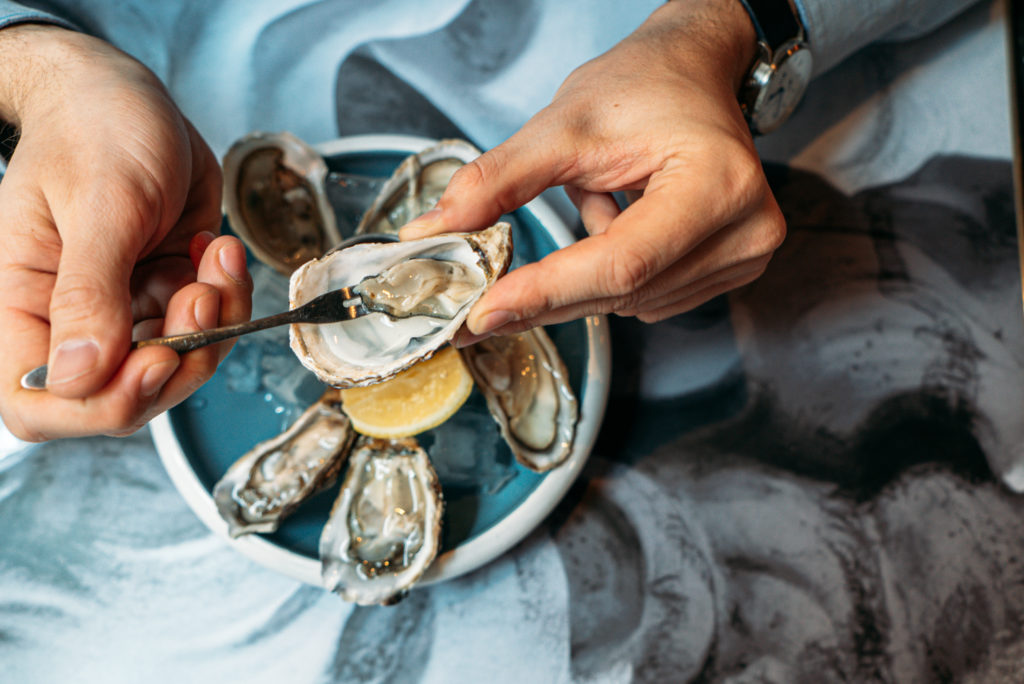 French Oysters in Singapore | Ginett French Restaurant in Singapore
