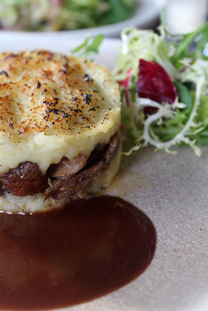 Duck Parmentier at Ginett
